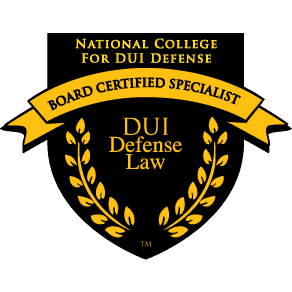 National College Board Certified Specialist DUI Defense Law
