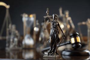 blind justice statue in Utah drug court