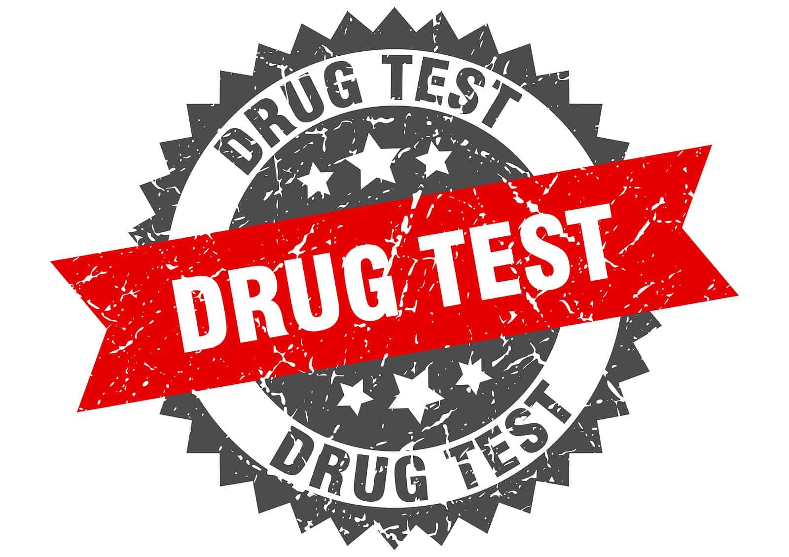 drug test stamp Utah