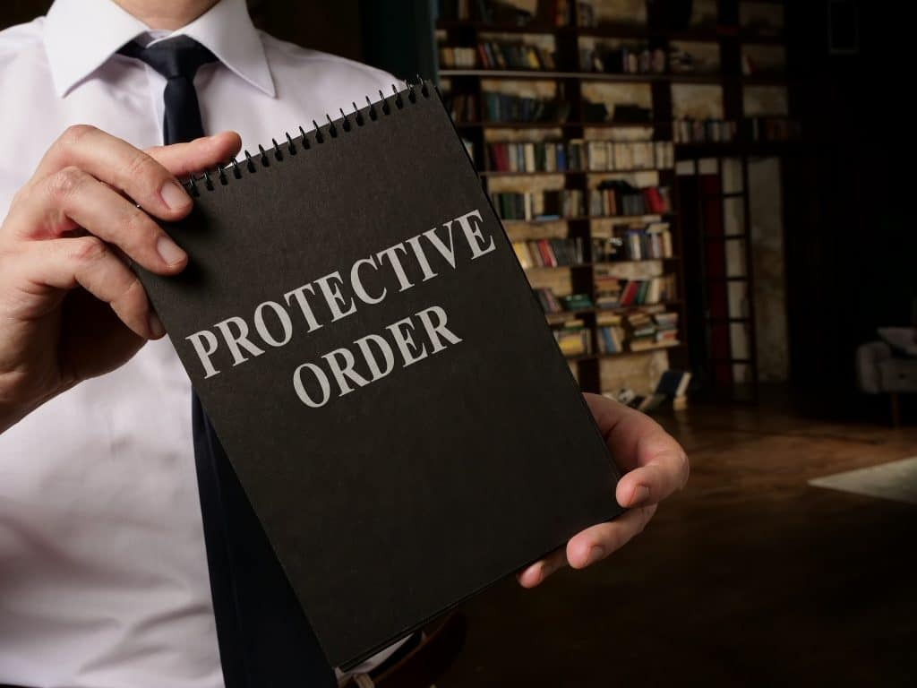 attorney holding protective order in Utah